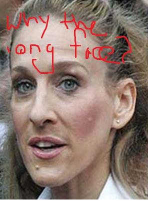 SJP long face