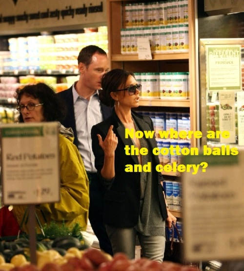 "Victoria Beckham ""grocery shopping"""